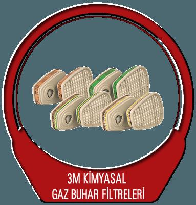 3M Kimyasal Gaz Buhar Filtreleri