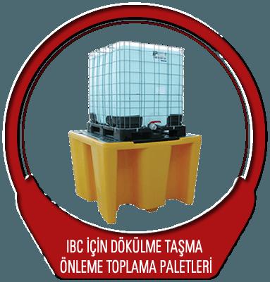 IBC Dökülme ve Taşma Önleme Toplama Paletleri