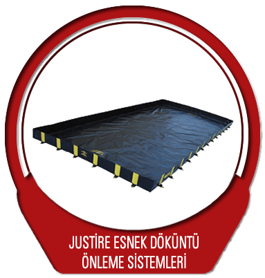 Justrite Esnek Döküntü Önleme Sistemleri