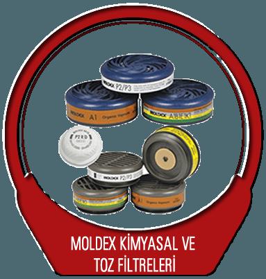 Moldex Kimyasal ve Toz Filtreleri