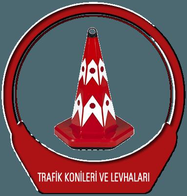 Trafik Konileri ve Levhaları