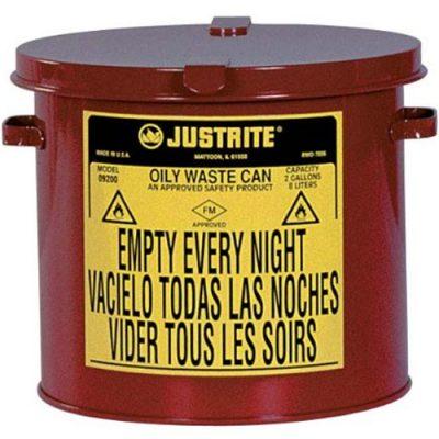 Justrite 09200 8 Litre Atık Çöp Kovası