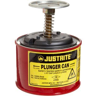 Justrite 10008 Plunger 0,5 Litre Basmali Tulumba Kap