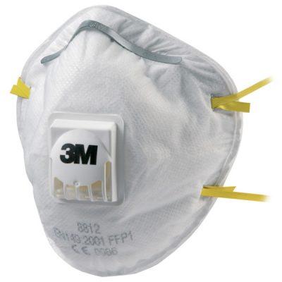 3M 8812 Ventilli FFP1 Toz Maskesi
