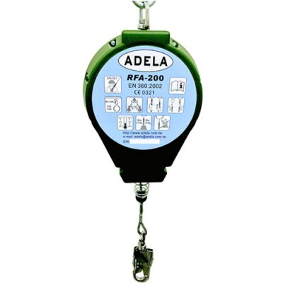Adela RFA-200 20 Metrelik Geri Sarımlı Düşüş Tutucu