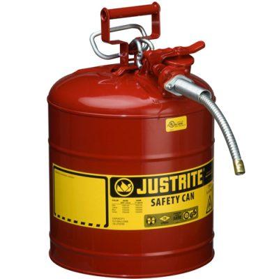 Justrite 7250120 19 Litre Çelik Emniyetli Kap