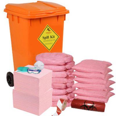 Crocsy 250 Kimyasal Emici Spill Kit