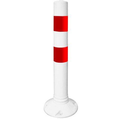 12239 75 cm Esnek Kırmızı Beyaz Delinatör