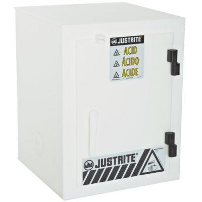 Justrite 24004 Asit ve Aşındırıcılar İçin Solid Polietilen Emniyetli Dolap