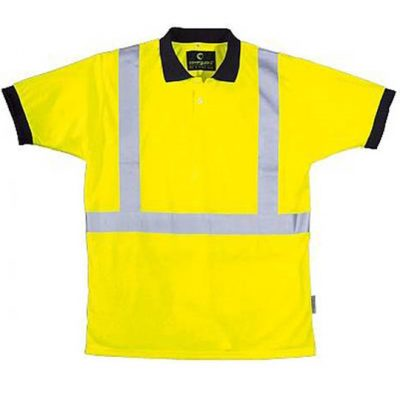 Yard Reflektif Şeritli Polyester T-Shirt