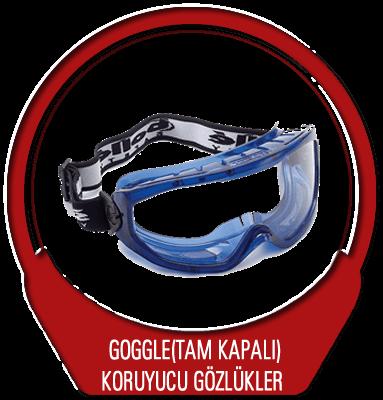 Goggle (Tam Kapalı) Koruyucu Gözlük